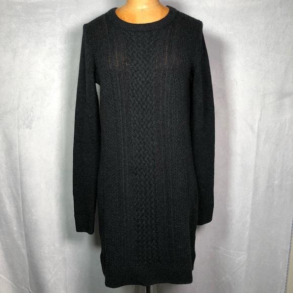 Aritzia Babaton wool cashmere knit sweater dress